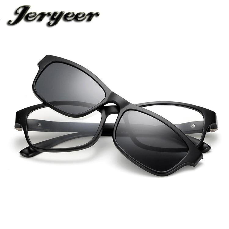 Gafas de sol personalizadas logotipo UV400 clip en gafas de sol de ...