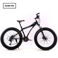 "fast drop shipping 26""aluminum alloy frame mountain bike bicycle fat tyre cycle"