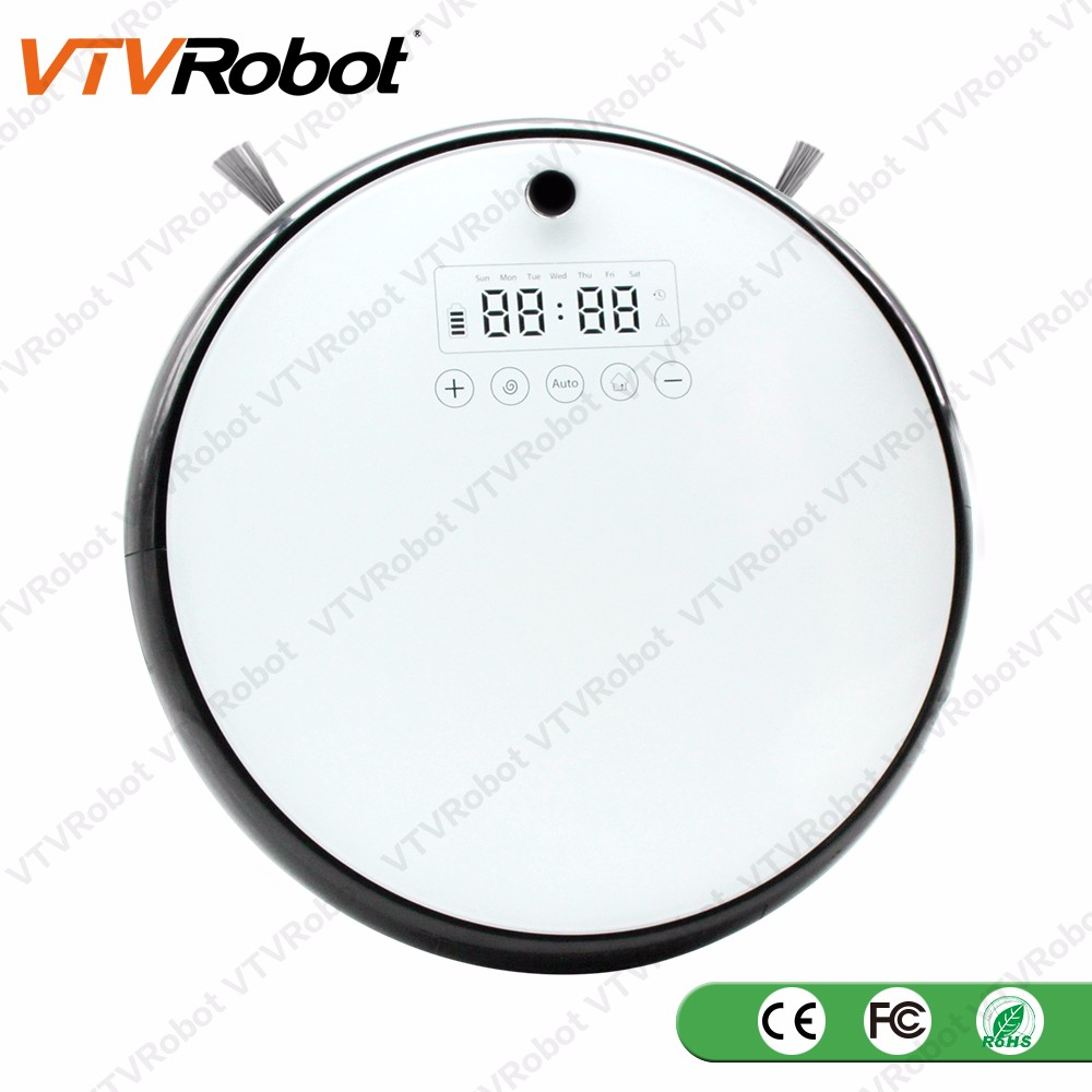 Factory robot vacuum cleaner wet mop 2017 Cleaning Vaccum Wet and Dry 3 Colors OEM Print Your LOGO