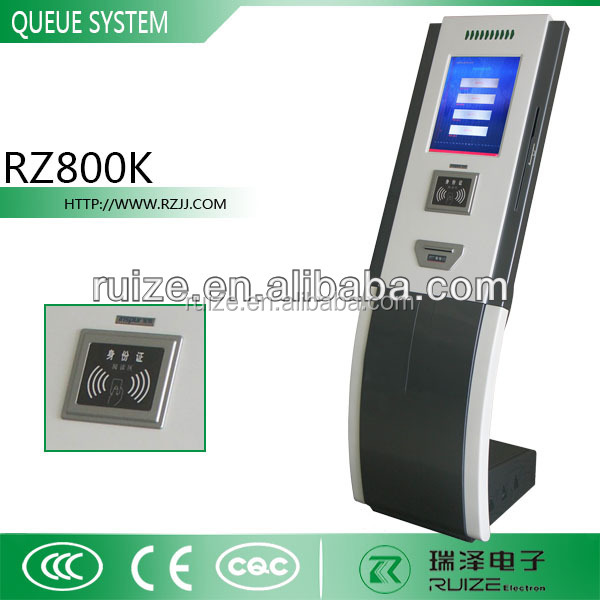 Multi-service Electronic Queue Management System/service Call ...