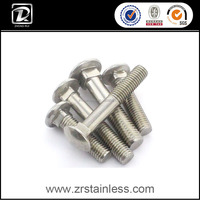 DIN603 316L Stainless Steel Carriage Bolt