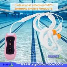 High Quality Waterproof MP3 Player Underwater 4GB MP3 with FM Radio in shenzhen
