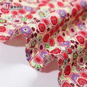 countryside style cotton fabric wholesale ,customized printed 100% cotton fabric for girls dress