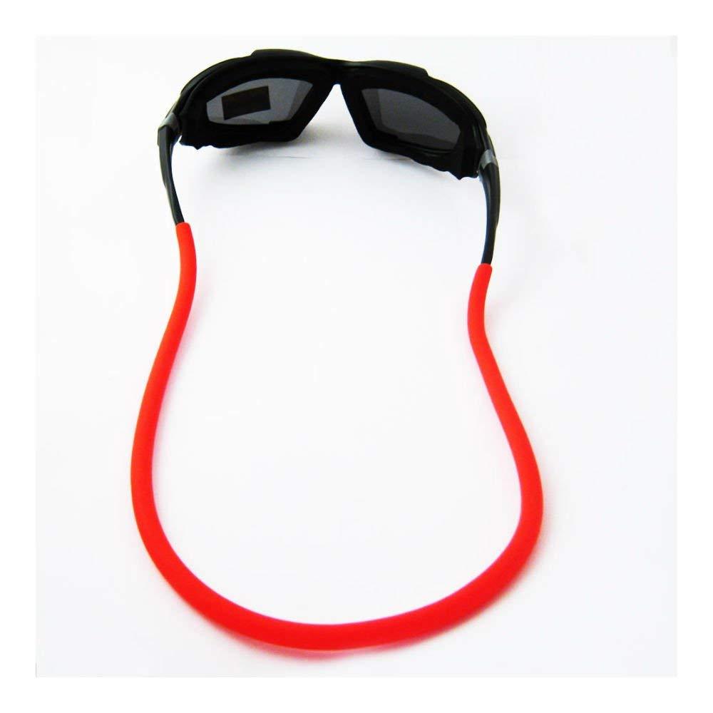 02cfeb7de11 Get Quotations · ORANGE Sunglasses Line Retainer Cord Float Strap Boating  Floating String Rubber Sport
