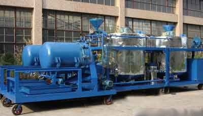 GER Used Engine Oil Purification