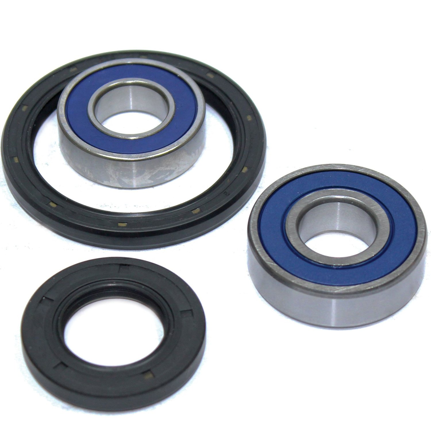 Caltric FRONT WHEEL BALL BEARINGS /& SEALS KIT Fits YAMAHA 225 YTM225 YTM-225 1983 1984 1985 1986