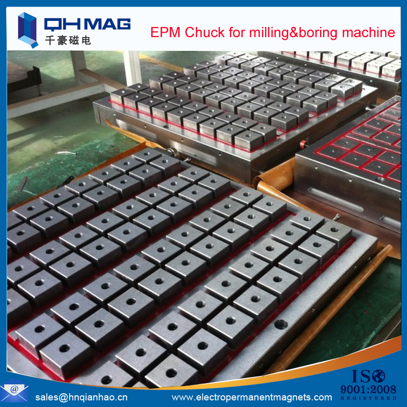 100% steel surface electro permanent workholding magnet chuck