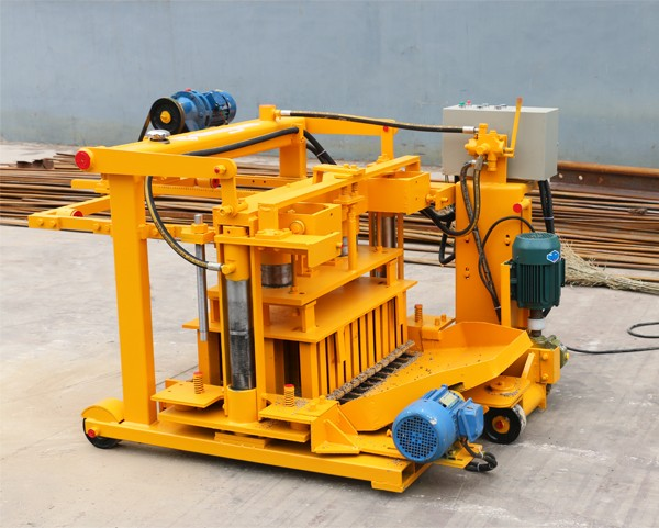 Hot selling QT40-3A widely used concrete block making machine for sale in USA