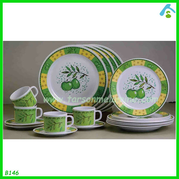 Hot sell 20pcs Melamine Dinner Set