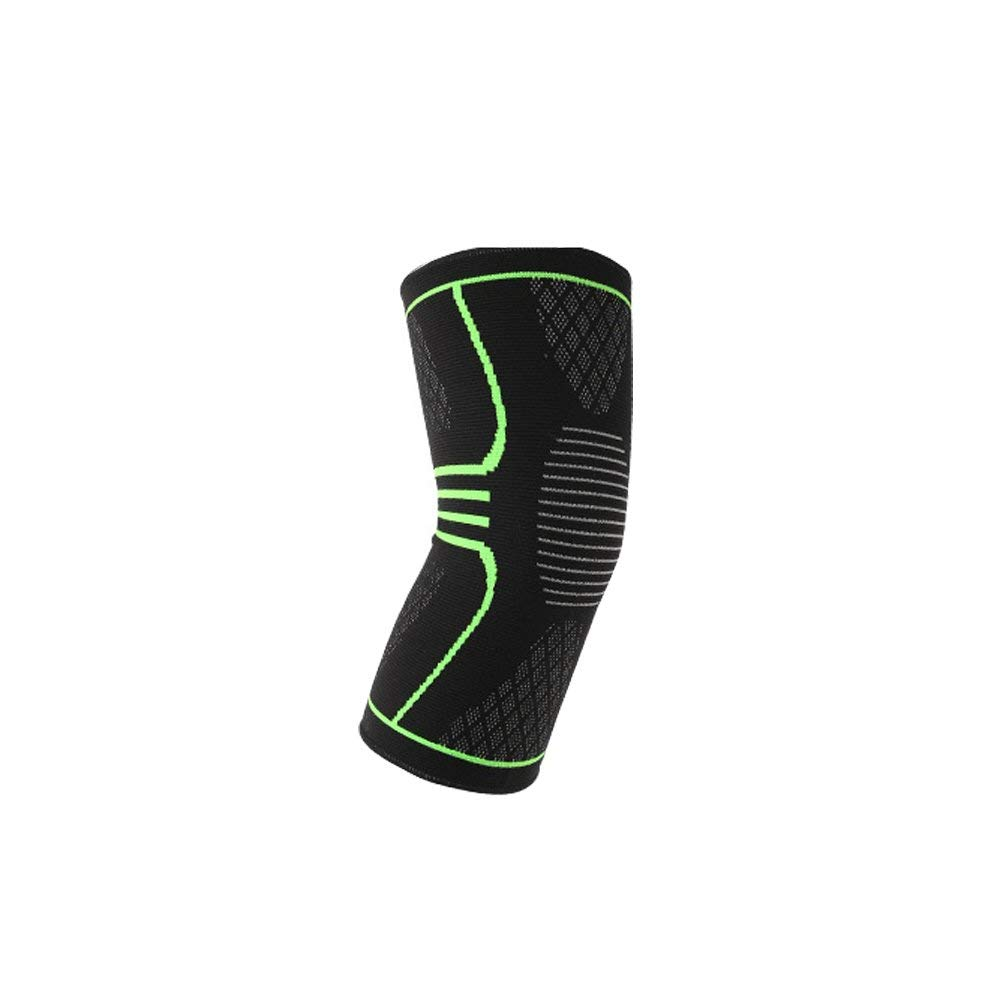 27f3cd4640 Compression Knitting A pair of Knee Compression Sleeves for Athletic  Powerlifting Cross fit Running Knee Brace