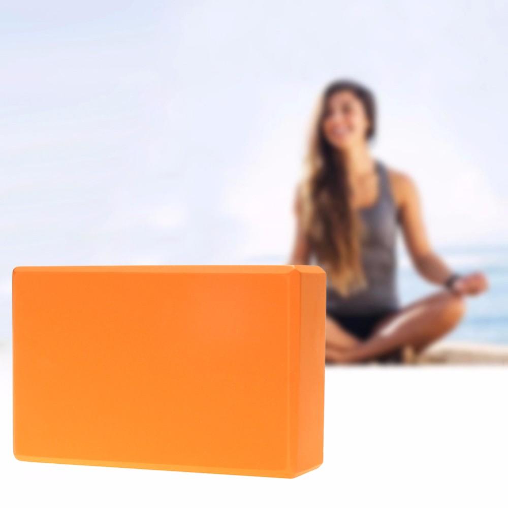 Yeni öğe yüksek yoğunluklu eva köpük yoga bloğu, yoga tuğla