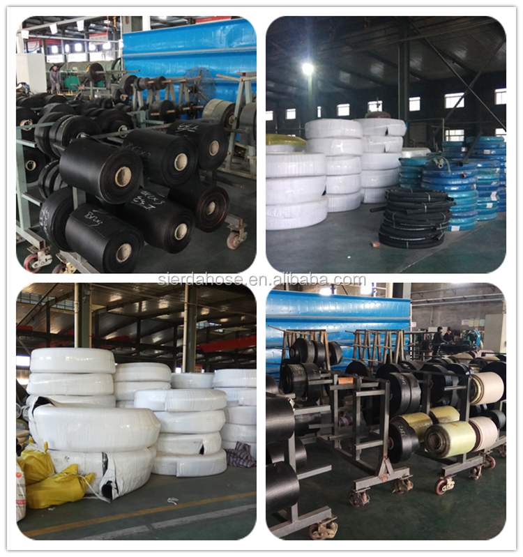 anti-stastic conveying flexible rubber smooth air hose