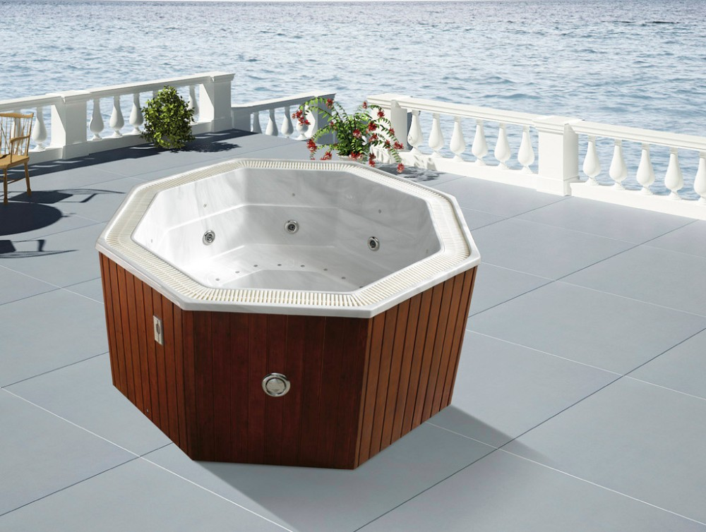Hs-b3302m High Quality Hot Tub/massage Bathtub Hot Tub/octagon Hot ...