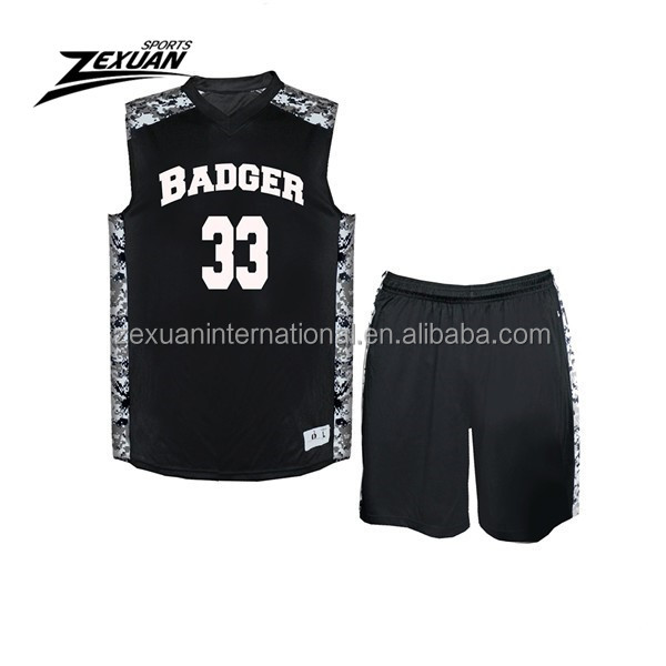 Factory direct reversible mesh basketball jerseys team basketball tops