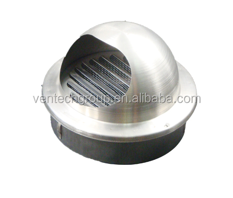 stainless steel cap louver ventilation air louver ball type ball louver