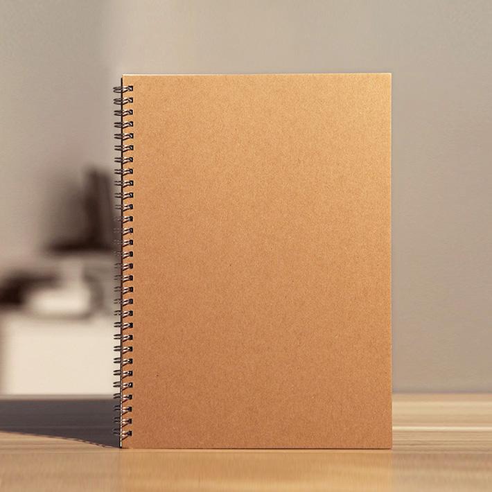 LZ A4 A5 Muji Cowhide Kraft Corver Blank Paper Sketch