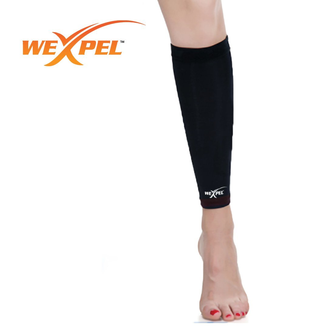 Wexpel (TM) Calf Sleeve with Copper Infused Compression (1 sleeve)