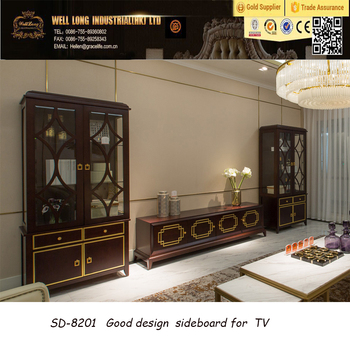 Beech Wood Wholesale TV Cabinet And Hot Sales Beech Living Room Sideboard  Furniture