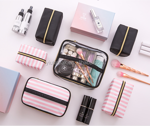 Economic Travel Multifunction Group collection Travel makeup bag Hanging Cosmetic Bag 4pcs/SET