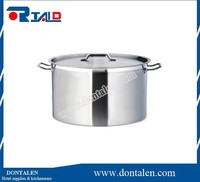 HD Stainless Steel Stock Pot Beer Brewing w/Rack Lid