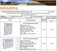 tempreture control Valve radiator valve for floor heating system