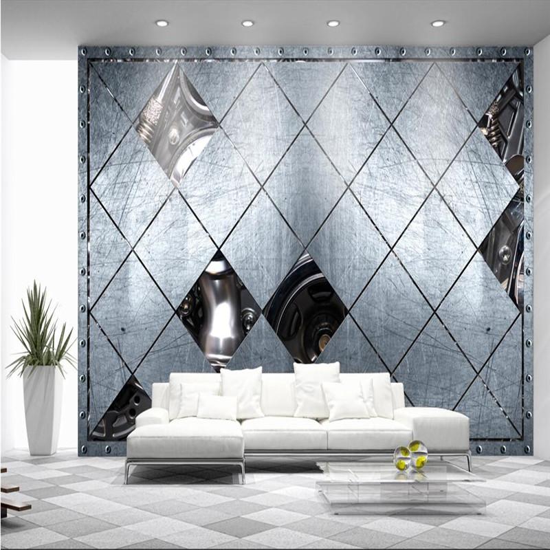 buy wall paper 3d mural decor photo backdrop photography metal art modern. Black Bedroom Furniture Sets. Home Design Ideas