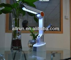 Hot sale new design Solar Table Lamp with reading light and radio