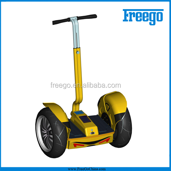Freego Outdoor Two Wheel Electric Stand Up Self-Balancing Chariot Scooter /Vehicle / Transporter / Smart Mobility Scooter