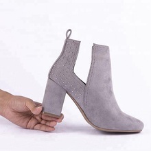TPR outsole comfortable durable heels boots