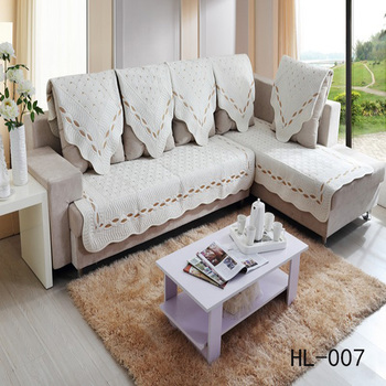 100 Cotton China Whole Headrest Cover For Sofa