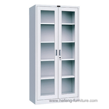 Superieur Library Cabinet/Library Display Rack With Glass Doors