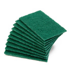 Household kitchen cleaning abrasive scouring pad