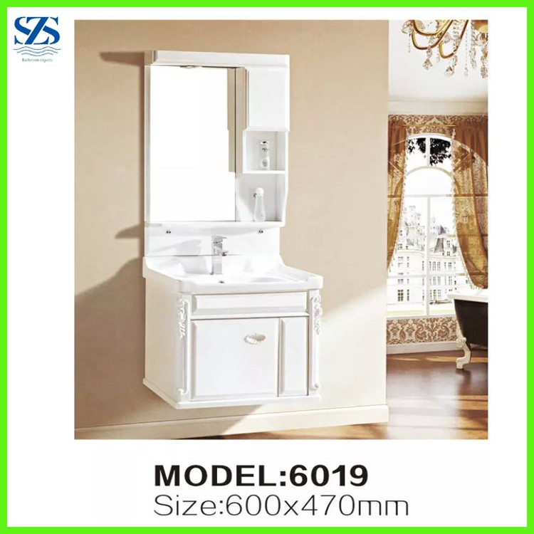 High end black bathroom vanity cabinets with led lights and towel bar buy bathroom cabinets for High end bathroom light fixtures