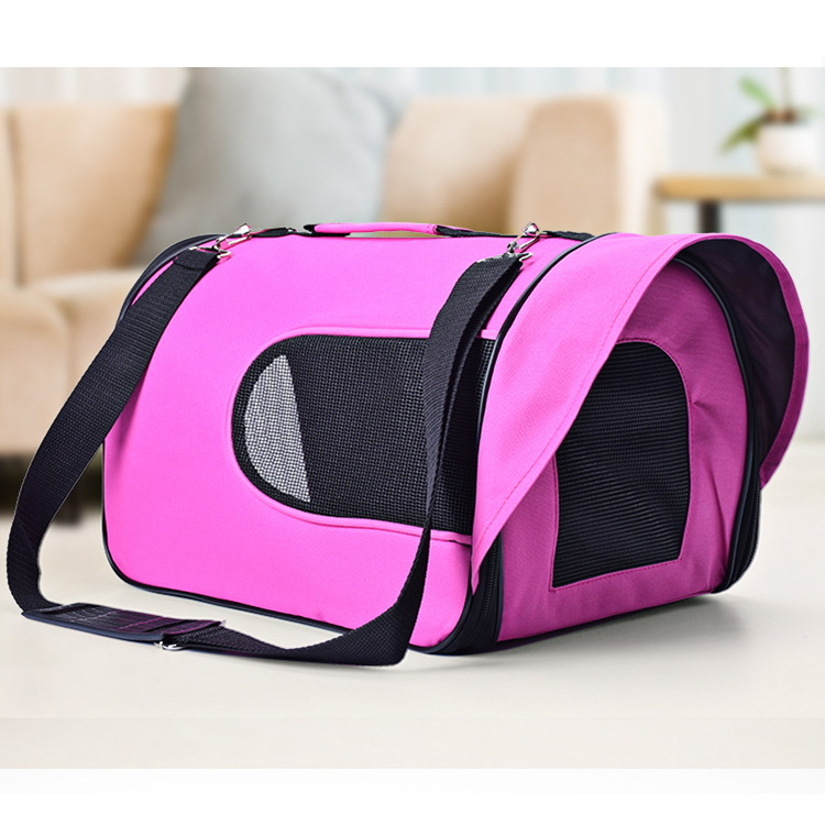 Multicolor Luxury mesh folding <strong>dog</strong> sling pet travel <strong>carrier</strong> tote cpp <strong>bag</strong>