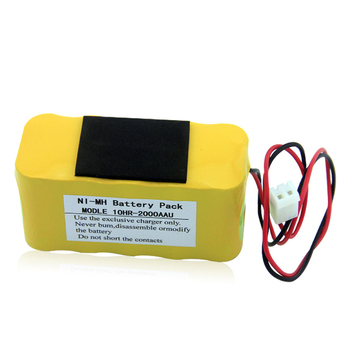 Best price Bangjian DC12V 2000mAh rechargeable Ni-MH battery pack with one year warranty
