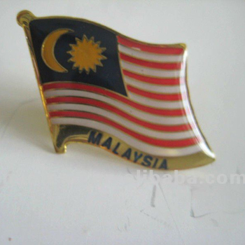 little falg custom gold logo medals,zinc alloy souvenir pin badges,magnetic metal badges