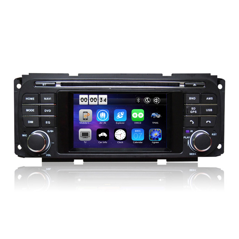 "4.3"" Car DVD Player GPS Navigation System for Jeep Grand Cherokee Wrangler Liberty 1999 2000 2001 2002 2003 2004 2005 2006 2007"
