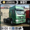 Cheap tractor truck Sinotruk HOWO 371HP 6x4 mini tractor trailer head truck