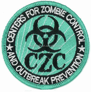 Zombie Control PATCH Cosplay Halloween Costume First Aid Kit Survival Medical