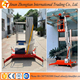 ZTCL Series portable aluminum vertical man lift price used for indoor outdoor