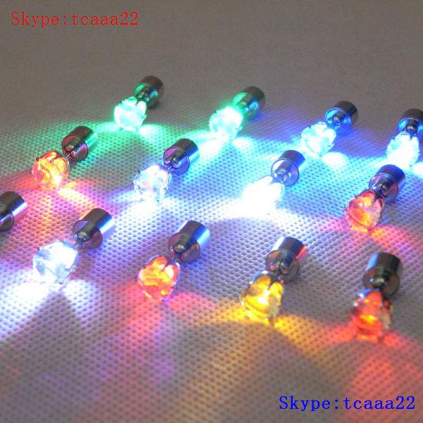 1d4ca0b9b Flashing Light Up Led Hoop Earrings Flower Shape - Buy Led Hoop ...
