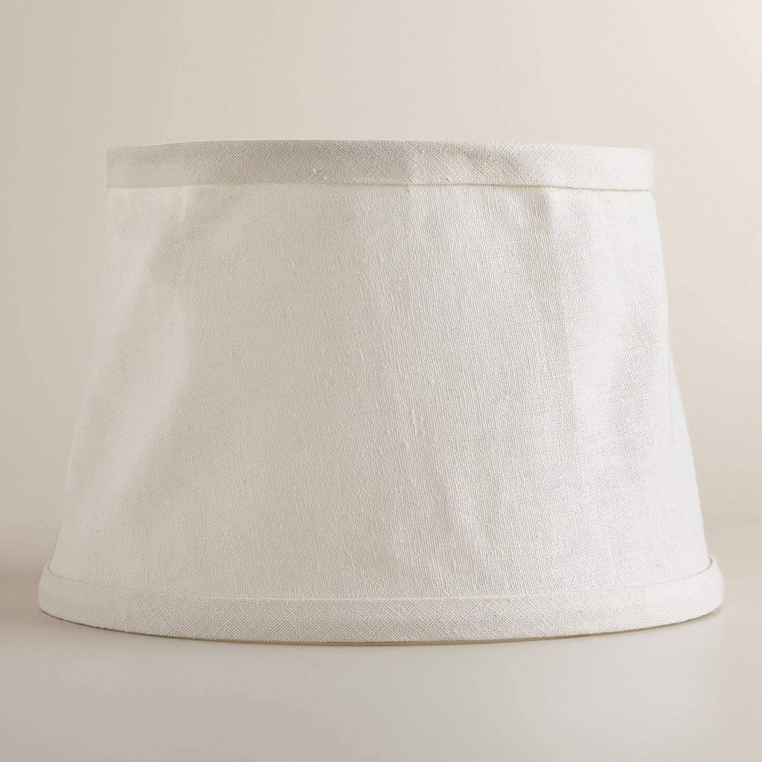 Cheap canvas shade structures find canvas shade structures deals get quotations white collapsible canvas accent lamp shade world market mozeypictures Gallery