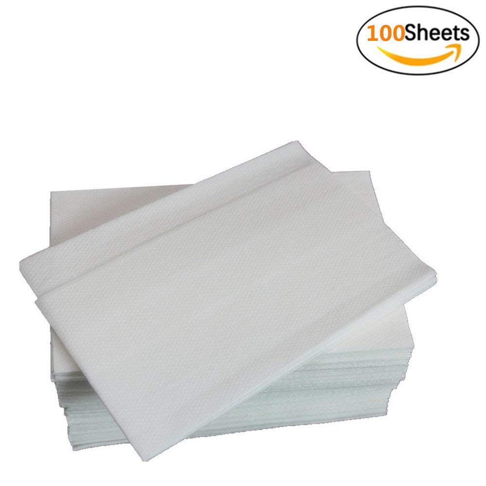 Jebblas Linen Feel Guest Towels | Disposable Cloth-Like Tissue Paper | Soft and Absorbent Hand Napkins For Kitchen, Bathroom, Parties, Weddings, Dinners or Events -100 Count