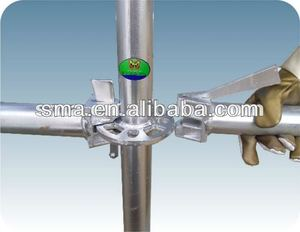 ringlock scaffolding base collar/ringlock system scaffold/ scaffolding ring lock parts