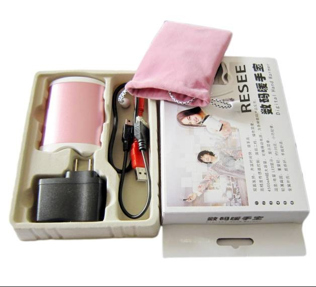 Cell Phone Warmer ~ Rechargeable usb hand warmer mobile phone charger electric