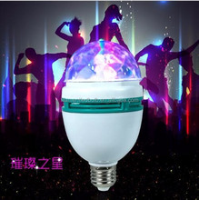 LED colors dot ring lamp six ring laser crystal magic ball KTV stage lighting