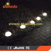 Set 5 Solar Powered Garden Ball Lights Outdoor Park Decoration Night Lamps with Super Bright 5pcs LED