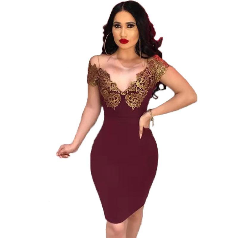Venta Al Por Mayor Vestidos Elegantes Día Compre Online Los