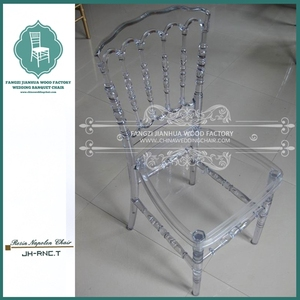 PC clear resin napoleon chair china wholesale chairs