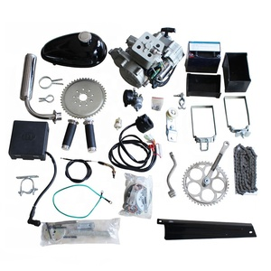 Petrol 48cc 50cc 60cc 66cc 80cc motorized 2 stroke gas gasoline bike motor bicycle engine kit